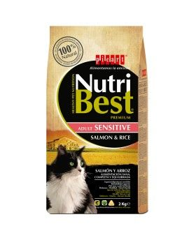 Nutribest Cat Sensitive Salmón &  Rice 15 Kg