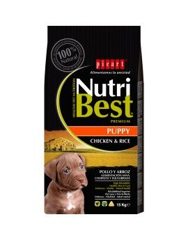 Nutribest Puppy. Pollo y arroz. 15 Kg
