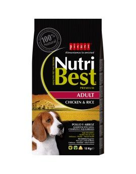 Nutribest Adult pollo y arroz. 15 Kg