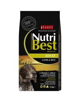 Nutribest Adulto Cordero y Arroz. 15 Kg