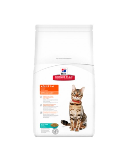 SP Feline Adult Optimal Care Atún