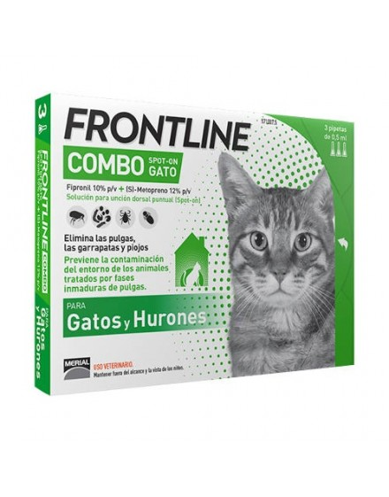 FRONT LINE COMBO 3 PIP. GATOS