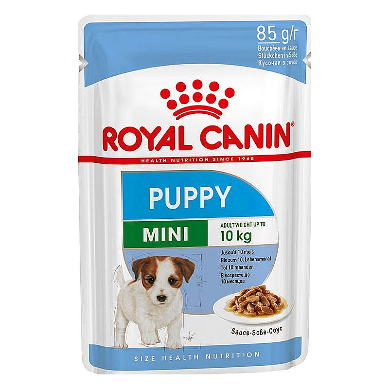 Mini Puppy (12 sobres * 85 gr)