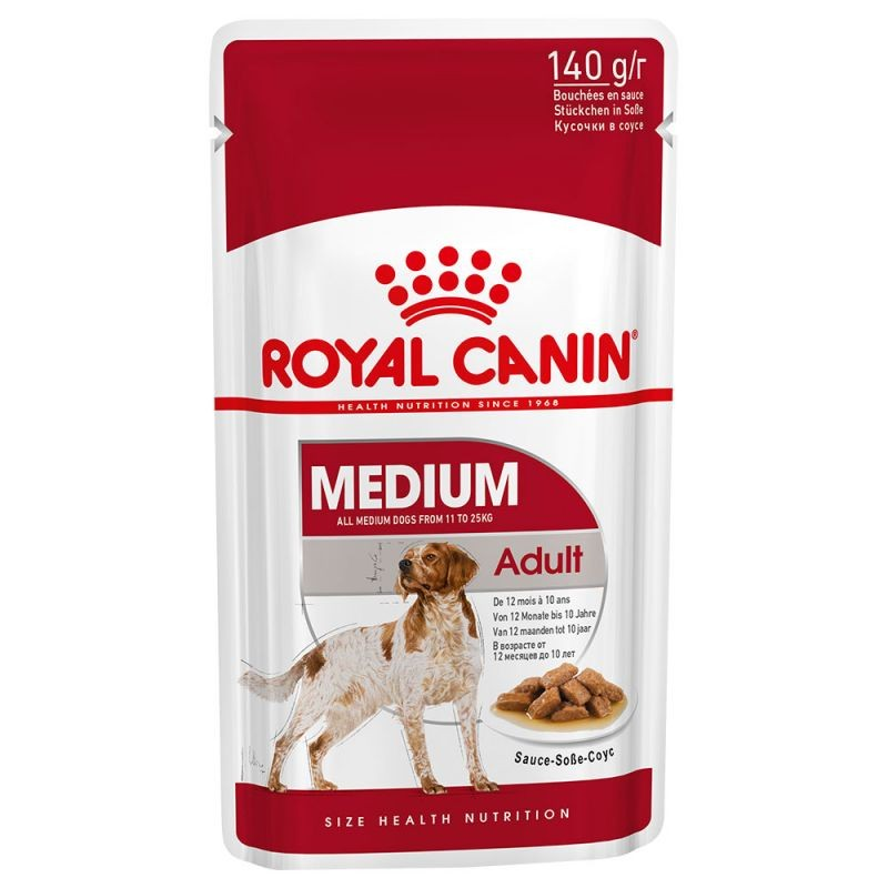 Royal Canin Medium Adult (10 sobres * 140 gr)