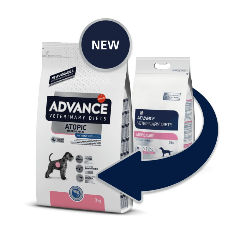 Advance VET Dog Atopic Med/Max