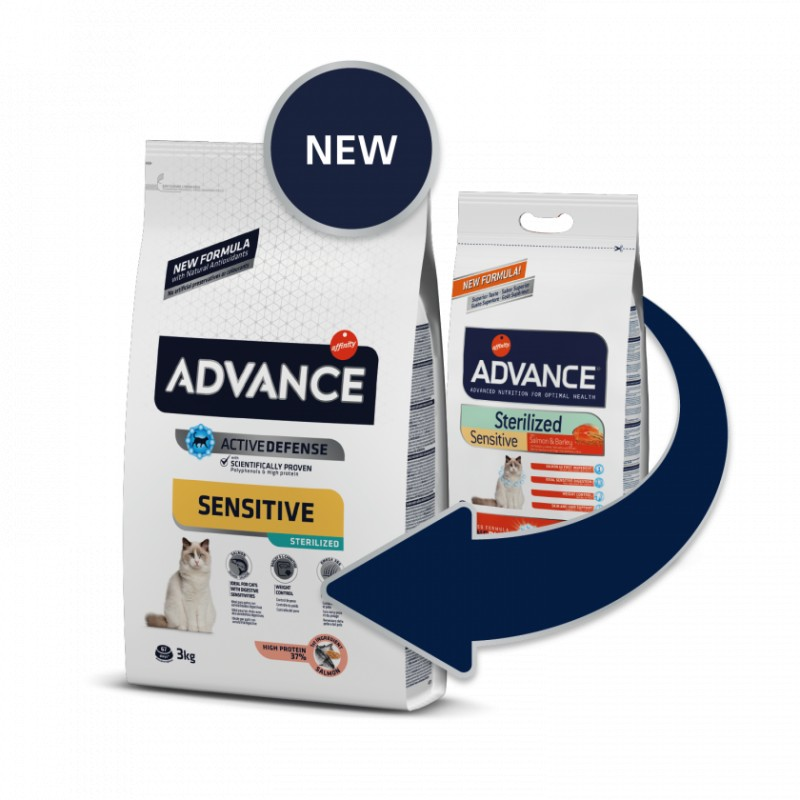 Advance SENSITIVE Cat Sterili Salmon