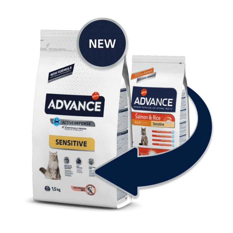 Advance SENSITIVE Adult Cat Salmon/Arroz