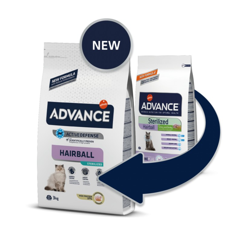Advance Esterilizado Hairball 10Kg