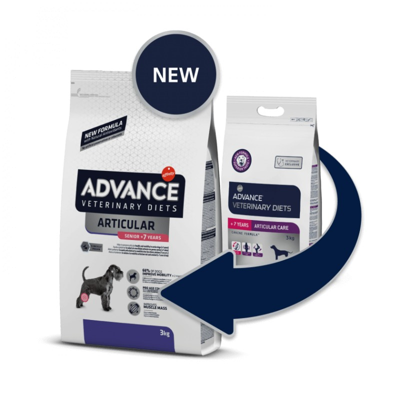 Advance veterinary dog  articular care +7 años