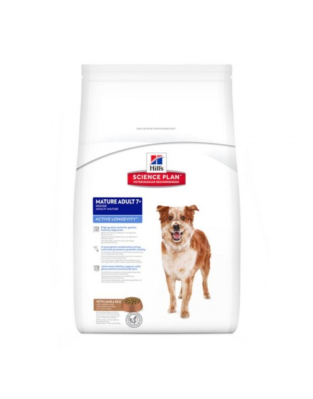 Hill'S™ Science Plan™ Canine Mature Adult 7+ Active Longevity Cordero Y Arroz