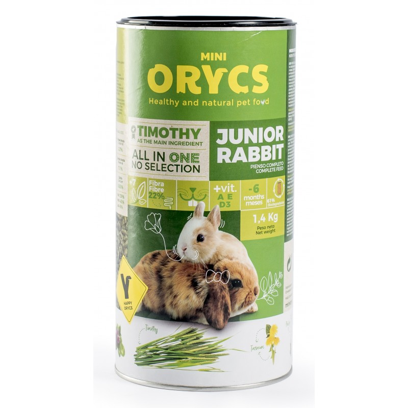 ORYCS JUNIOR RABBIT - 1.400 Kg