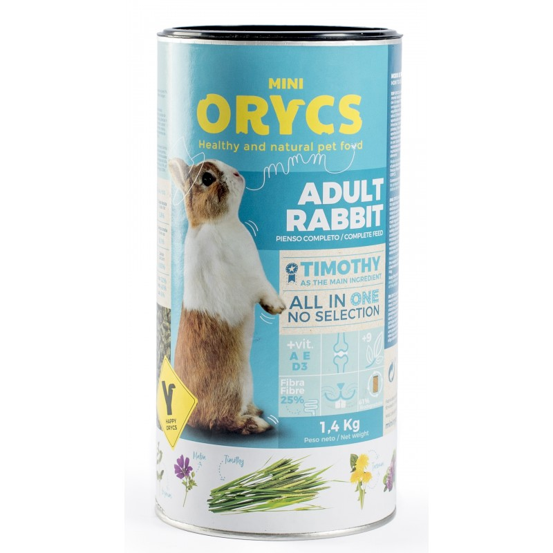 ORYCS ADULT RABBIT 1.400 Kg