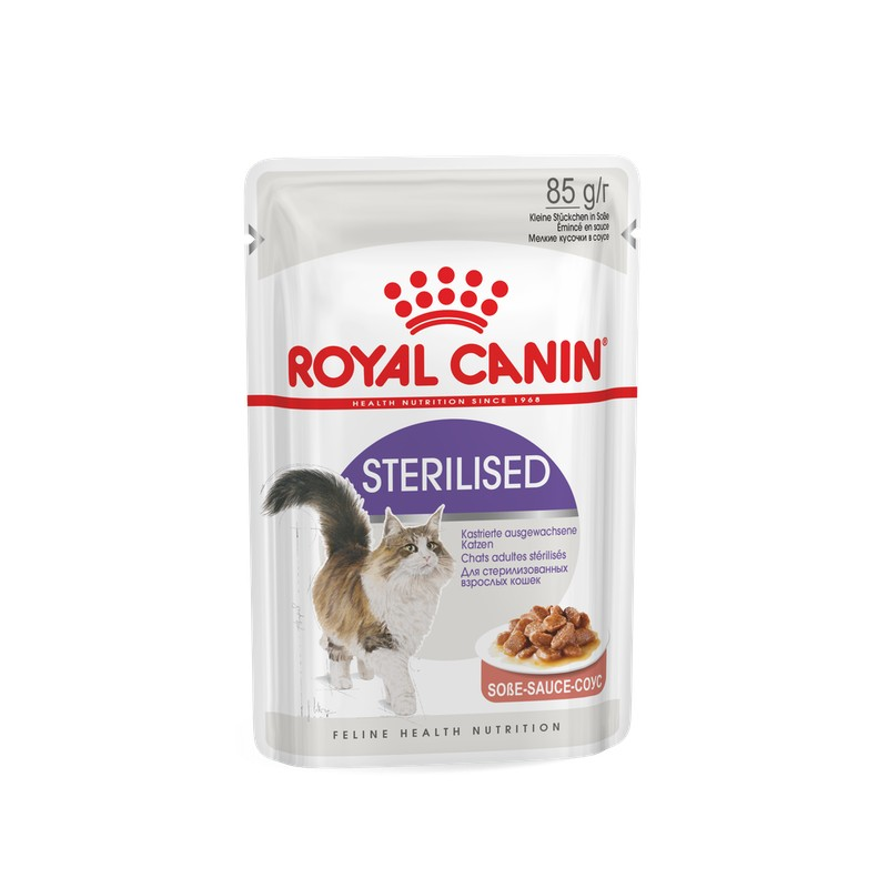 STERILISED WET GATO  (12*85 gr)