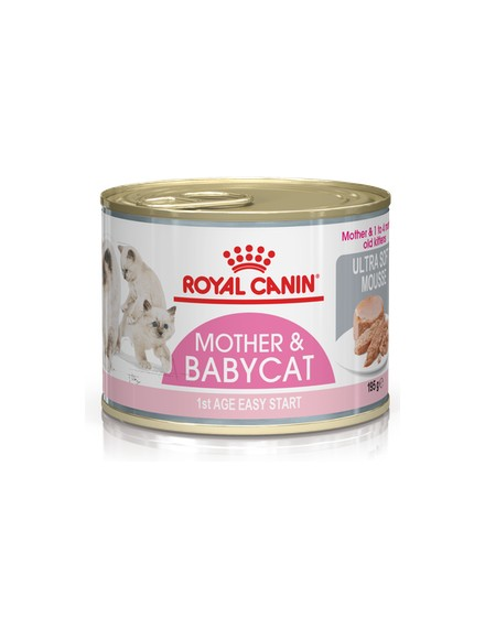 Mother and Babycat ultra soft mousse