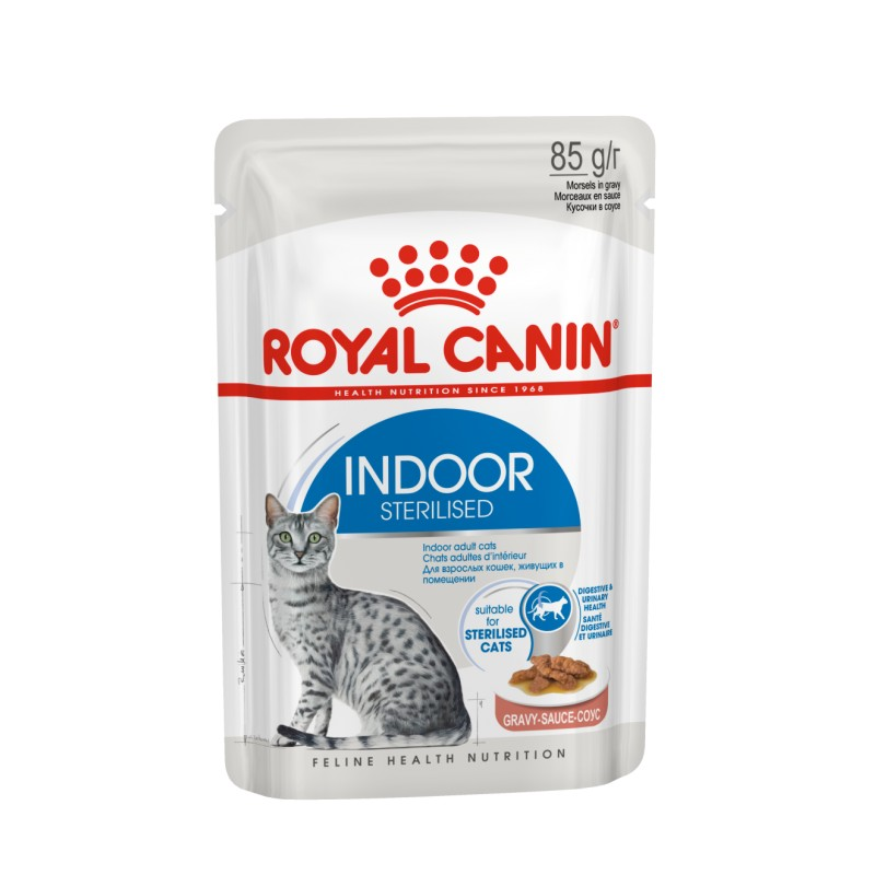 INDOOR STERILIZED GATO (12*85gr)